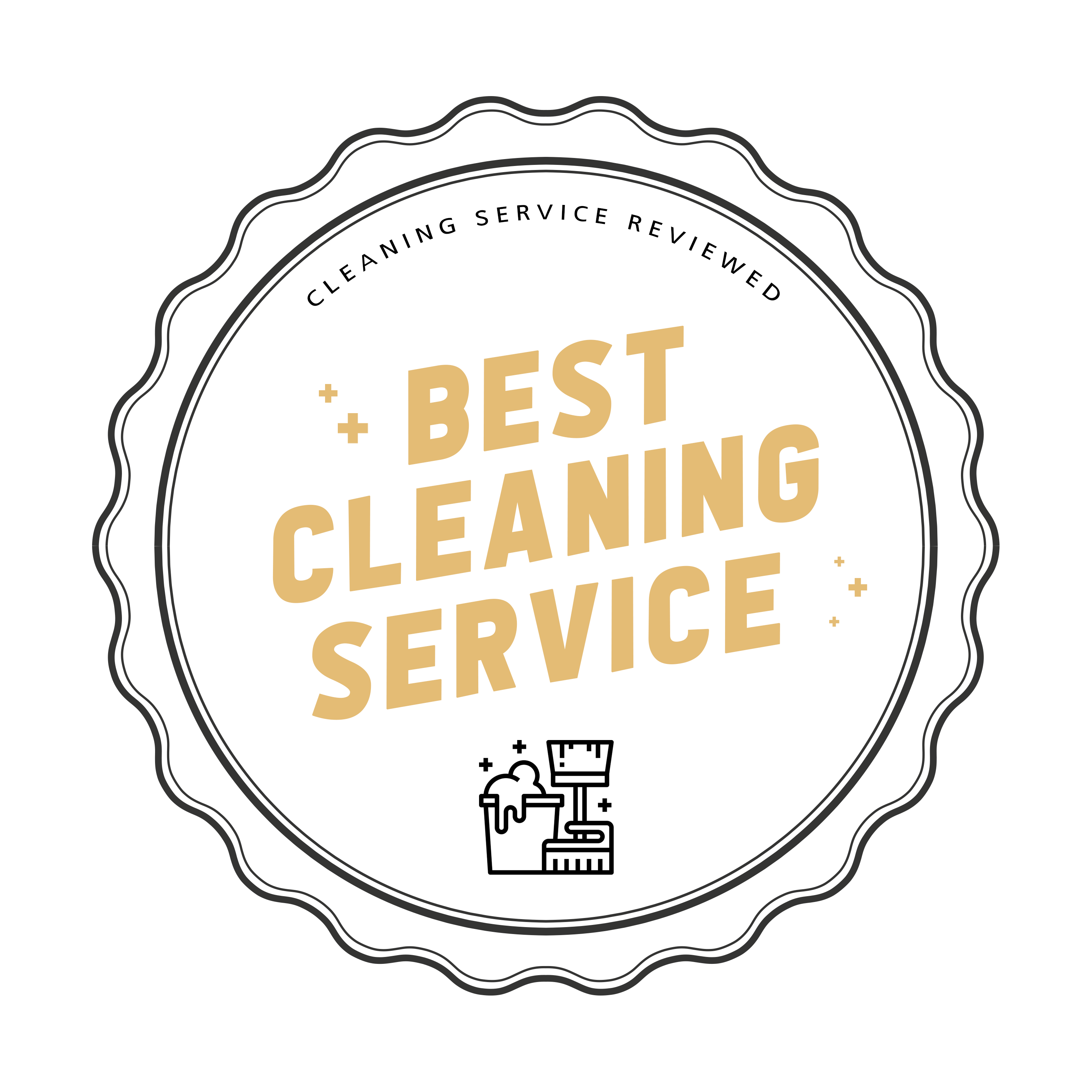 Best Cleaning Badge
